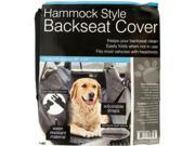 Hammock Style Backseat Cover