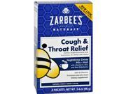 Zarbee s Cough and Throat Relief Drink Mix Nighttime Supplement 6 Packets