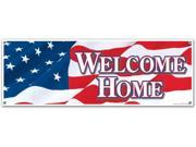 Welcome Home Sign Banner Case Pack 12