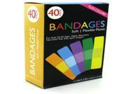 Fun Color Bandages Case Pack 12
