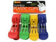 Jumbo Plastic Clips Case Pack 24 9SIAD245DW2122