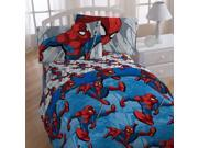 Marvel Spiderman Twin Bedding City Graphic Comforter Sheets 9SIA17P49N9262