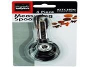 Metal Measuring Spoon Set Case Pack 24 9SIV01U4N94901