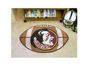 Florida State Seminoles NCAA Football Floor Mat  Seminole Logo