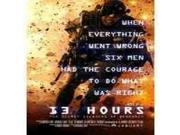 13 HOURS:SECRET SOLDIERS OF BENGHAZI 9SIAA765803712