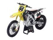 New Ray Die-Cast RCH Suzuki Ken Roczen RMZ450 Motorcycle Replica 1:12 Scale Yellow 9SIA17P4H52891