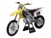 New Ray Die-Cast RCH Suzuki Ken Roczen RMZ450 Motorcycle Replica 1:6 Scale Yellow 9SIA62V4HK2168