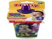 Nuby Wash or Toss 10 oz. Cups with Spout Lid (5 Pack) Case Pack 72 9SIV1976Y74323