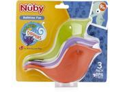 Nuby Dolphin Dippers Bath Scoops (3 Pack) Case Pack 24