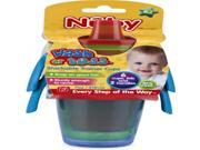Nuby Wash or Toss 7 oz. Trainer Cups (6 Pack) Case Pack 72 9SIA17P4HJ4858