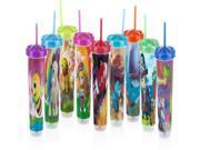 Nuby Printed Wash or Toss 10 oz. Straw Cups (5 pack) Case Pack 72