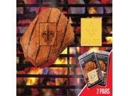 Fanmats 13202 NFL - 2 in. x2 in.  - NFL - New Orleans Saints  Fanbrand 2 Pack 9SIA00Y1830347