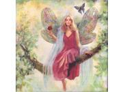 "Summer Tree Fairy Embellished Counted Cross Stitch Kit-12""""""""X12"""""""" 14 Count"" 9SIA17P4N17751"