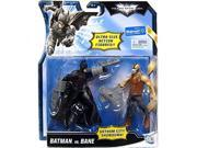Mattel Dark Knight Rises Exclusive 5 Inch Ultra-Size Action Figure Bladed Batman Vs. Brown Vest Bane 9SIA17P5DE4979