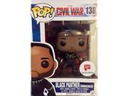 Funko Pop Marvel Captain America: Civil War Black Panther Unmasked Exclusive Vinyl Bobblehead 9SIA17P5HH5570
