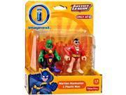 Imaginext, DC Comics Justice League, Martian Manhunter and Plastic Man Figures 9SIA17P5HH6054