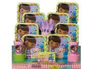 Doc McStuffins Party Kit Including Plates, Cups, Tablecover and Napkins - 8 Guests by Hallmark 9SIV1976SR0750