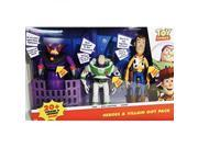 Disney Pixar Toy Story Heroes & Villain Gift Pack, Talking Zurg, Buzz Lightyear & Woody 9SIV1976T42501