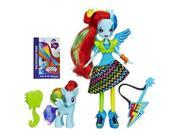 My Little Pony Equestria Girls Rainbow Dash Doll and Pony Set(Discontinued by manufacturer) 9SIV1976T45345