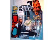 Star Wars 2012 Discover the Force Exclusive Action Figure QuiGon Jinn 9SIA17P5KJ3405