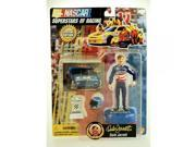 1997 - Toy Biz - NASCAR - Superstars of Racing - Special Edition - Dale Jarrett #88 - Action Figure w/ Accessories - Rare - Out of Production - Limited Edition 9SIV1976SM3350