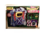 The Incredible Hulk: Break-Out Gamma Ray Trap Action Playset with 5 Action Figure 9SIV1976SM8695