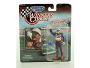 1997 - Kenner - Starting Lineup - Winner's Circle - NASCAR - Dale Jarrett Action Figure - 4 Inch Fig - Ford Quality Care - Ford Thunderbird - w/ Accessories - L 9SIA17P5TG6212