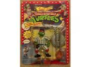 1991 Playmates Teenage Mutant Ninja Turtles Sewer Sports All-stars Grand Slammin' Raph 9SIA17P5TG6296