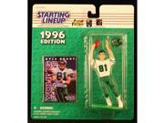 KYLE BRADY / NEW YORK JETS 1996 NFL Starting Lineup Action Figure & Exclusive NFL Collector Trading Card 9SIV1976SN2203