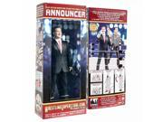 Talking Wrestling Ring Announcer Action Figure By Figures Toy Company 9SIA17P5TH1695