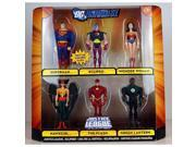 DC Universe Justice League Unlimited Exclusive Action Figure 6Pack Justice League Eclipsed Superman, Wonder Woman, Hawkgirl, The Flash, Green Lantern Eclipso 9SIA17P5TG3646