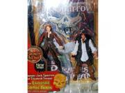 Pirates of the Caribbean: Secrets Of The Deep Captain Jack Sparrow & Elizabeth Swann Action Figure 2-Pack 9SIA17P5TG6480