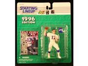DAVE BROWN / NEW YORK GIANTS 1996 NFL Starting Lineup Action Figure & Exclusive NFL Collector Trading Card 9SIV1976SM2424