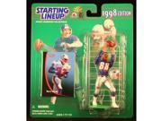 TERRY GLENN / NEW ENGLAND PATRIOTS 1998 NFL Starting Lineup Action Figure & Exclusive NFL Collector Trading Card 9SIV1976T50901