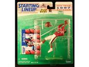 JERRY RICE / SAN FRANCISCO 49ERS 1997 NFL Starting Lineup Action Figure & Exclusive NFL Collector Trading Card 9SIV1976SM2915
