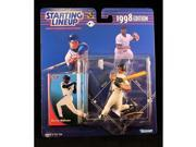 BERNIE WILLIAMS / NEW YORK YANKEES 1998 MLB Starting Lineup Action Figure & Exclusive Collector Trading Card 9SIA17P5TG9969