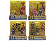 Fisher Price Imaginext Power Rangers Complete Figure Bundle 9SIA17P5TG8366