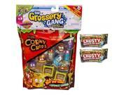 The Grossery Gang 10 Pack PLUS 2 Crusty Chocolate Bar Surprise Packs 9SIA17P5TG7664