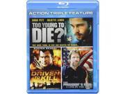 Action Triple Feature: Driven to Kill / To Young to Die? / President's Man: A Line in the Sand [Blu-ray] 9SIV1976SP3483