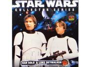 Star Wars Han Solo and Luke Skywalker in Stormtrooper Gear Limited Edition Collector Series Action Figures Set by Kenner 9SIA17P5TG4991