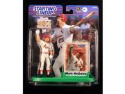 MARK MCGWIRE / ST. LOUIS CARDINALS 2000 Commemorative MLB Starting Lineup Action Figure, Display Stand & Exclusive Collector Trading Card 9SIV1976SN2675