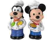 Fisher-Price Little People Magic of Disney Mickey & Goofy Buddy Pack 9SIA17P5TG3807