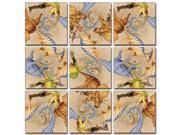 B Dazzle Diggin Dinos Scramble Squares 9 Piece Puzzle 9SIADWW62E7724