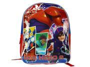 Disney Big Hero 6 Baymax Hiro School Backpack Bag - 15 Inch 9SIV1976T51163
