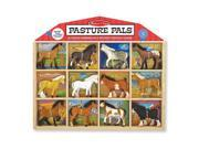 Melissa & Doug Pasture Pals - 8 Collectible Horses With Wooden Barn-Shaped Crate 9SIV1976SM1652