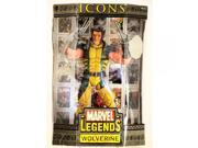 """Marvel Legends Icons 12"""""""" Series 1 Action Figure Wolverine [Variant Mask-Down]"""" 9SIA17P6M72160"""