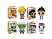 Funko Dragonball Z POP! Anime Vinyl Collectors Set: SS Goku, Vegeta, Piccolo, FF Frieza Action Figure 9SIA17P62M4823