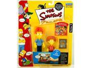 The Simpsons Series 9 Playmates Action Figure Rod Todd Flanders 9SIV1976SJ0269