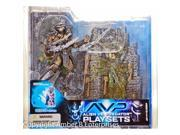 McFarlane Toys AVP Alien VS. Predator Movie Series 2 Action Figure Scar Predator with Victim 9SIV1976SN0591