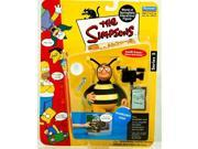 The Simpsons Series 5 Playmates Action Figure Bumblebee Man 9SIA17P6A53310